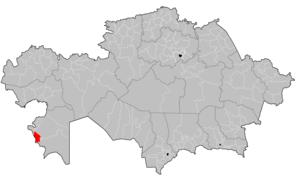 Munaily District - Image: Munaily District Kazakhstan
