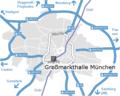 Munich Sendling Großmarkthalle-München Map mit Isar.png