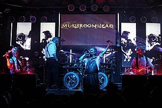 Mushroomhead - Image: Mushroomhead Live by Luis Blanco (1)