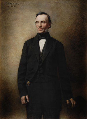 Myron H. Clark - Gubernatorial portrait of New York Governor Myron H. Clark.