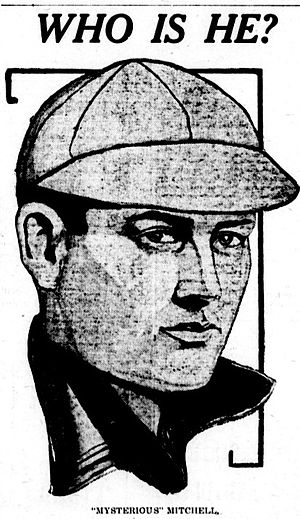 Mysterious Walker - A sketch of Walker from The Spokane Press in 1910