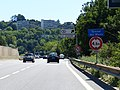 N201 panneau B12 Tunnel des Monts et sortie 16.jpg