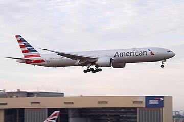 N723AN Boeing 777 American Airlines (9483566883).jpg