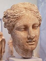Kopf der Göttin Hygieia (NAMA 3602)