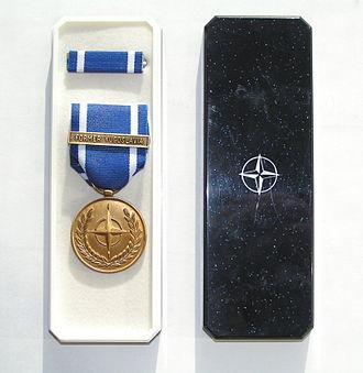 John Dickson Stufflebeem - Non Article 5 NATO Medal (Pakistan)