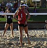 NCAA beach volleyball match at Stanford in 2017 (33215559982).jpg