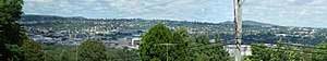 Toowoomba - A panorama of Toowoomba looking south-west from Mount Lofty