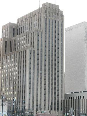 New Jersey Bell Headquarters Building - Image: NJ Bell Headquarters Newark (rear)