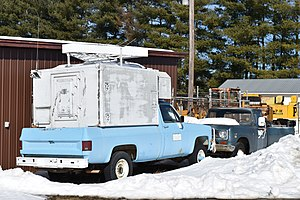 United States National Radio Quiet Zone - Image: NRAO old patrol truck