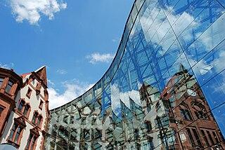 Dortmund City in North Rhine-Westphalia, Germany