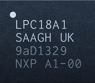 Apple motion coprocessors - Image: NXP LPC18A1