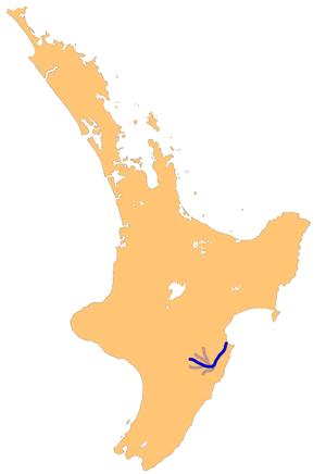 Tukituki River - The Tukituki River system