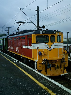 National Railway Museum of New Zealand - Image: NZR EA Wellington 2