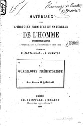La Guadeloupe préhistorique