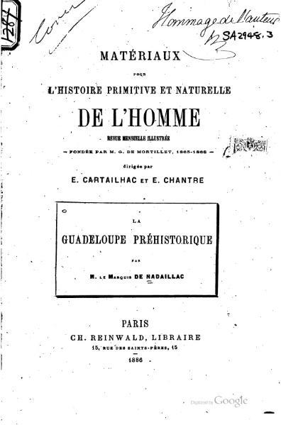 File:Nadaillac - La Guadeloupe préhistorique, 1886.djvu