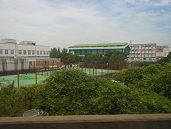Nagoya City Tomida High School, 2014.jpg
