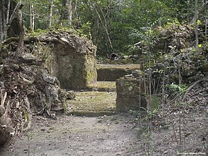 History of Guatemala -  The remains of the Nakbé palace from the mid pre-Classic period, Mirador Basin, Petén, Guatemala.