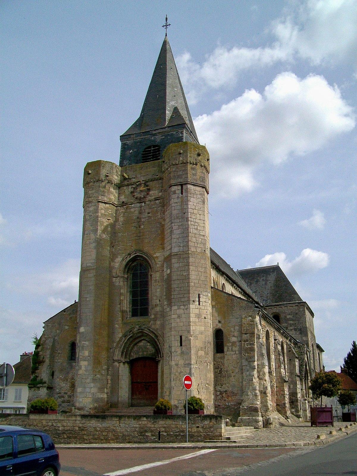 église Saint Pierre de Nanteuil le Haudouin — Wikipédia