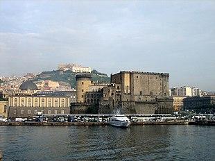 Porto di Napoli dal mare
