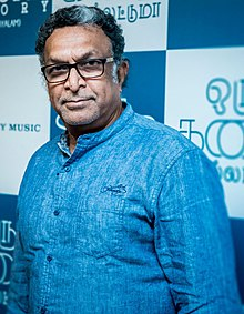 Nassar at Oru Kadhai Sollattumaa Audio Launch.jpg