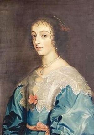 Nathan Drake (artist) - Portrait of Henrietta Maria by Drake