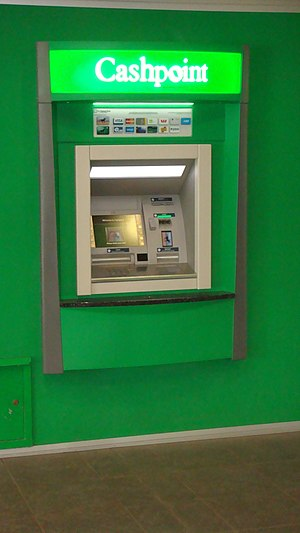 National Bank of New Zealand - A National Bank Cashpoint
