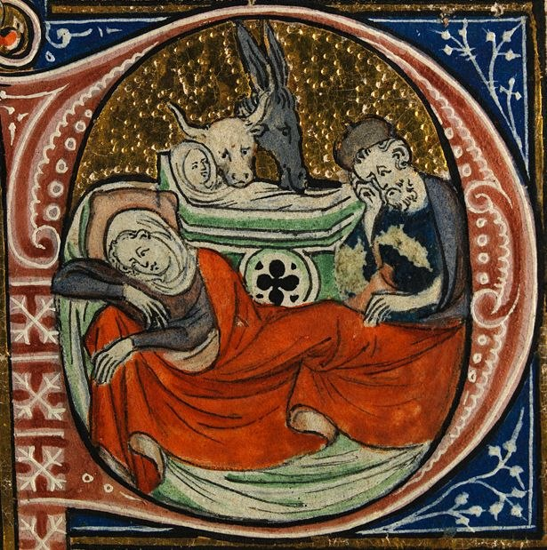 Nativity from Sherbrooke Missal cropped