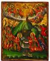 Nativity of Jesus Icon from Vidin Metropoly by Dicho Krastev, 1865.jpg