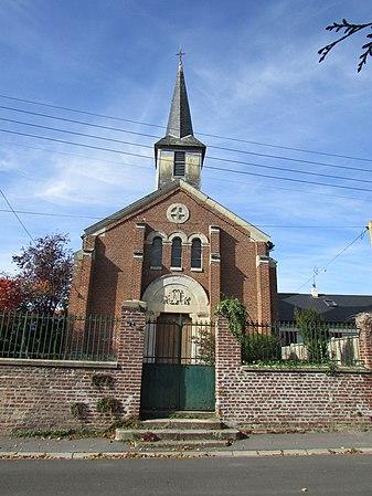 Temple protestant de Nauroy