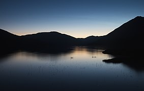 Nautical twilight over Isaac Lake (DSCF2518).jpg