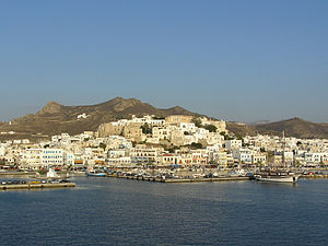 Naxos - Port of Naxos (city)