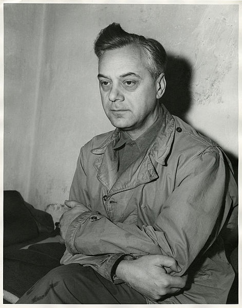 File:Nazi party member Alfred Rosenberg in cell Nuremberg Trials.jpeg