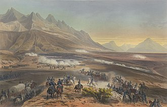 Battle of Buena Vista - Image: Nebel Mexican War 03 Battle of Buena Vista (cropped)