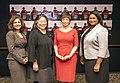Neera Tanden, Tina Tchen, Valerie Jarrett, and Latifa Lyles DSC 1032 (14073681485).jpg