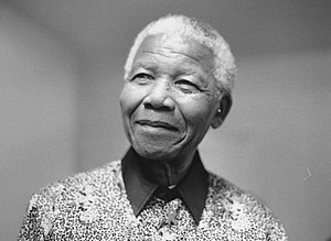6th April 2000 Visit of Nelson Mandela to give...