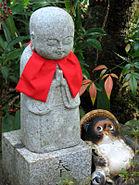 Nenbutsu-ji jizo and Tanuki