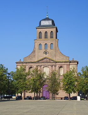 Image illustrative de l'article Église Saint-Louis de Neuf-Brisach
