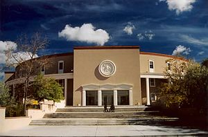The New Mexico State Capitol in Santa Fe.