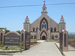 Ave Maria church, Suai
