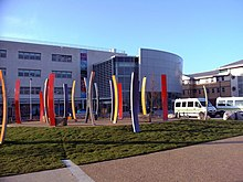 New Entrance, Broomfield Hospital, Chelmsford, Essex - geograph.org.uk - 2240850.jpg