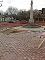 New Paving Round the War Memorial - geograph.org.uk - 1222433.jpg