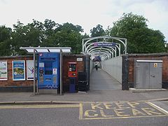 New Southgate entrance Station Road.JPG