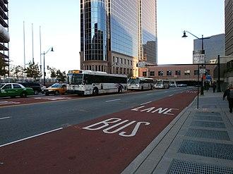 Bus rapid transit in New Jersey - Newark Penn XBL