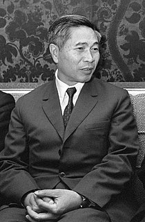 Nguyễn Cơ Thạch Foreign Minister of Vietnam 1980–1991
