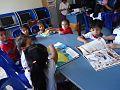 """Niños en plena lectura en la Sala de la Biblioteca Municipal """"Ciro Alegría"""".jpg"""