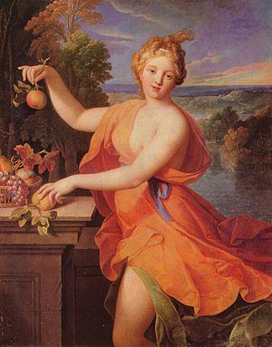 Pomona (mythology) - Image: Nicolas Fouché 001