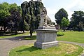 Nijmegen, Leeuw, Kronenburgerpark, Henri Leeuw sr.Henri Leeuw jr. 1886 Rijksmonument.jpg