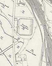 Een kaart van Ordnance Survey