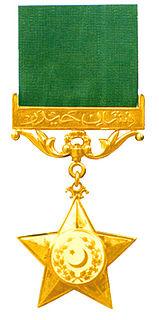 Nishan-e-Haider Pakistans highest military gallantry award