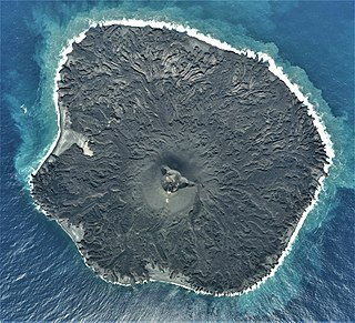 Nishinoshima (Ogasawara) Active volcanic island belonging to the Volcano Islands arc